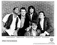 The Pretenders Promo Print