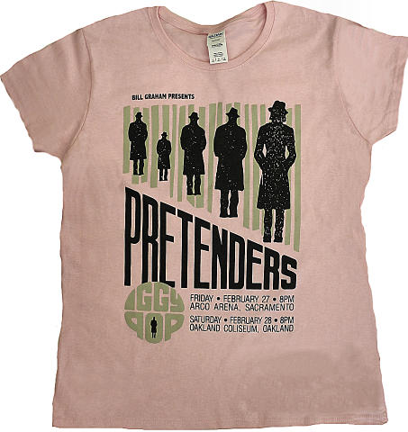 The Pretenders Women's Retro T-Shirt