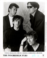 The Psychedelic Furs Promo Print