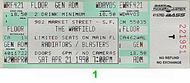 The Radiators 1990s Ticket