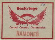 The Ramones Backstage Pass