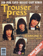 The Ramones Trouser Press Magazine