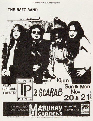 The Razz Band Handbill