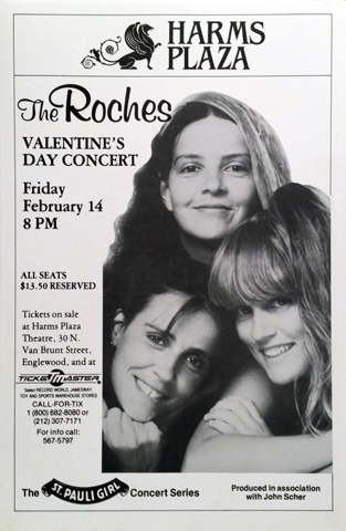 The Roches Poster
