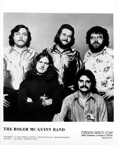 The Roger McGuinn Band Promo Print