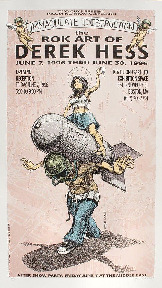 The Rok Art of Derek Hess Poster