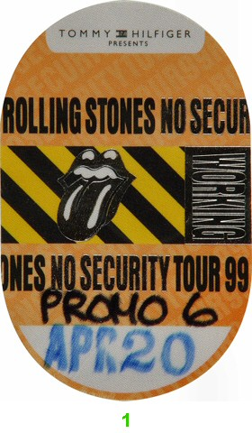 The Rolling StonesBackstage Pass