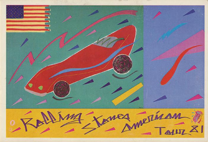 The Rolling Stones Handbill