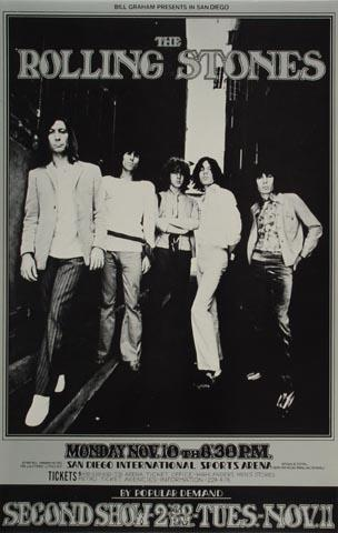 The Rolling Stones Handbill