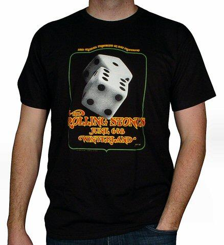 The Rolling Stones Men's Retro T-Shirt