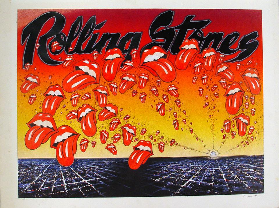 The Rolling Stones Original Art