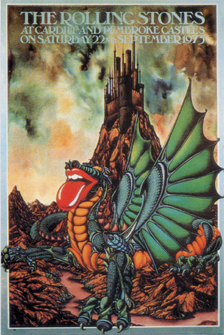 The Rolling Stones Postcard