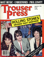 Roxy Music Trouser Press Magazine