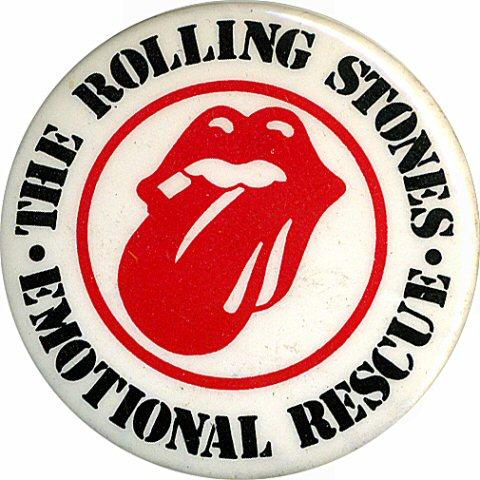 The Rolling StonesVintage Pin