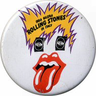 The Rolling Stones Vintage Pin