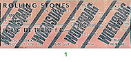 J. Geils Band Vintage Ticket