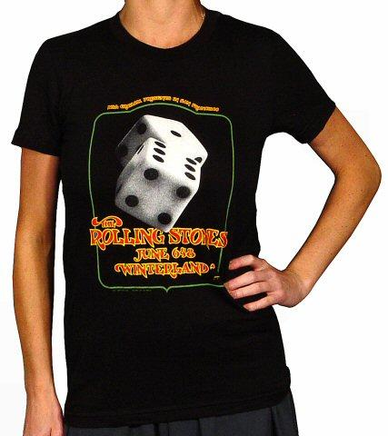 The Rolling Stones Women's Retro T-Shirt