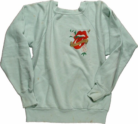 The Rolling Stones Women's Vintage Sweatshirts