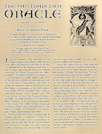 The San Francisco Oracle Handbill