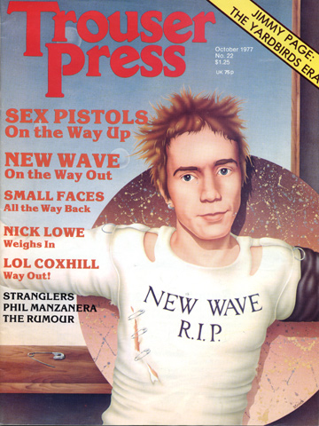 The Sex Pistols Trouser Press Magazine