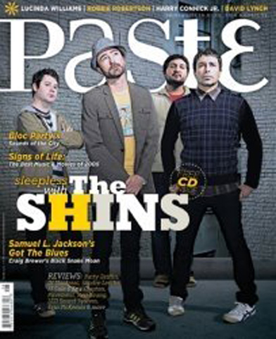 The Shins Paste Magazine