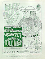 The Sir Douglas Quintet Handbill