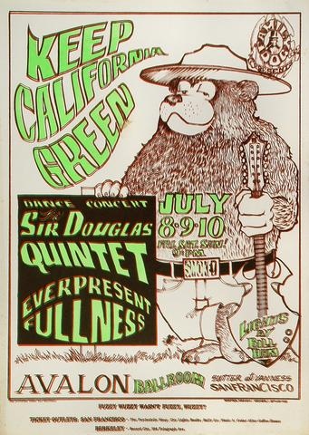 The Sir Douglas Quintet Poster