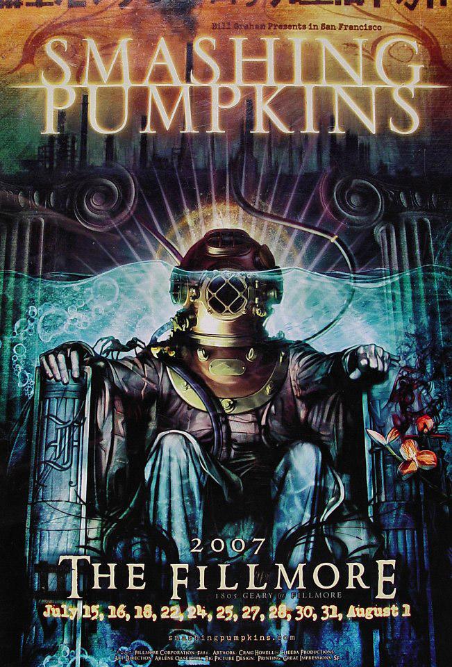 The Smashing Pumpkins Poster