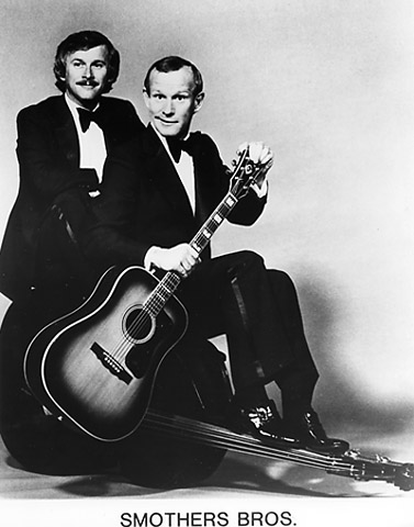 The Smothers Brothers Promo Print