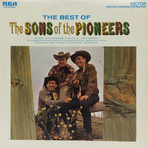 "The Sons of the Pioneers Vinyl 12"" (Used)"