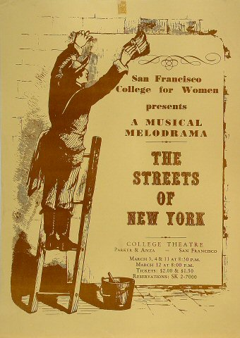 The Streets of New YorkPoster