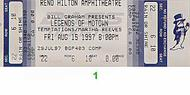 Martha &amp; the Vandellas 1990s Ticket