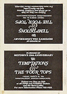 The Temptations Handbill