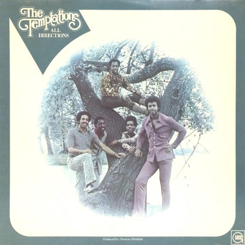 The Temptations Vinyl (Used)