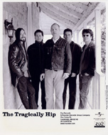 The Tragically Hip Promo Print