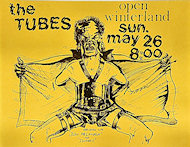 The Tubes Handbill