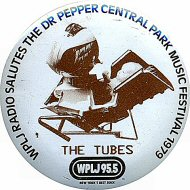 The Tubes Vintage Pin