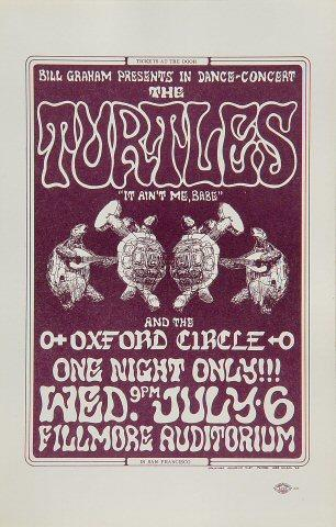 The Turtles Handbill