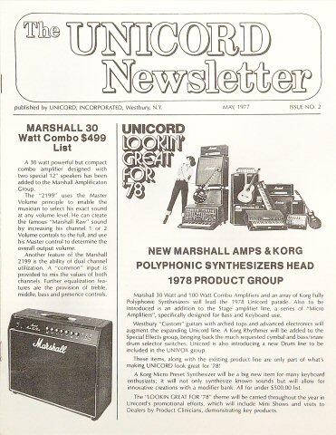 The Unicord NewsletterProgram