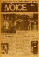The Village Voice Vol. 15 No. 41 Magazine