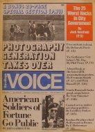 The Village Voice Vol. 20 No. 49 Magazine