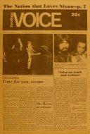 The Village Voice Vol. XVI No. 31 Magazine