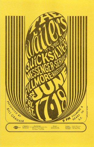 The Wailers (60's) Handbill
