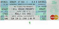 The Wallflowers 1990s Ticket