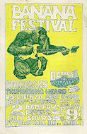 The Warlocks Handbill