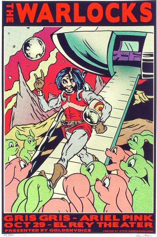 The WarlocksPoster