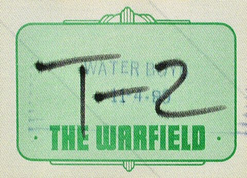The Waterboys Backstage Pass