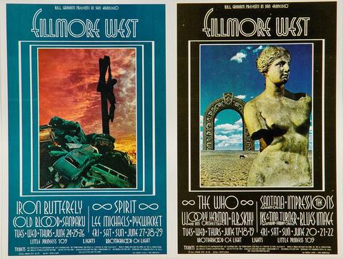 The Who Postcard