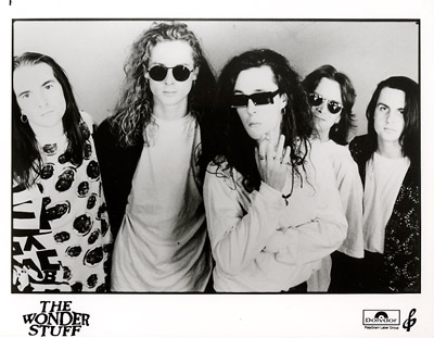 The Wonder Stuff Promo Print