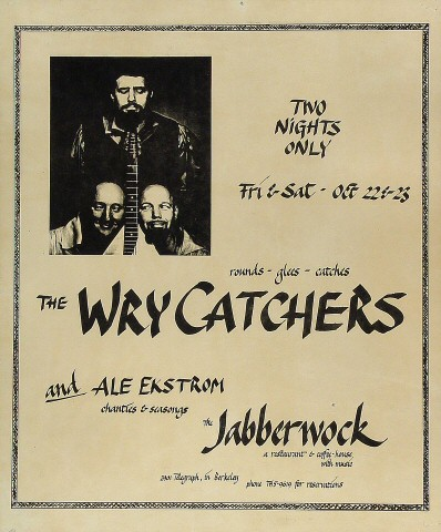 The Wry Catchers Poster